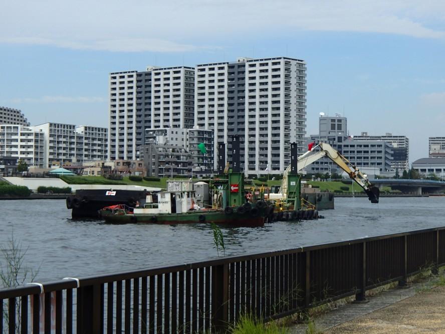 隅田川しゅんせつ工事